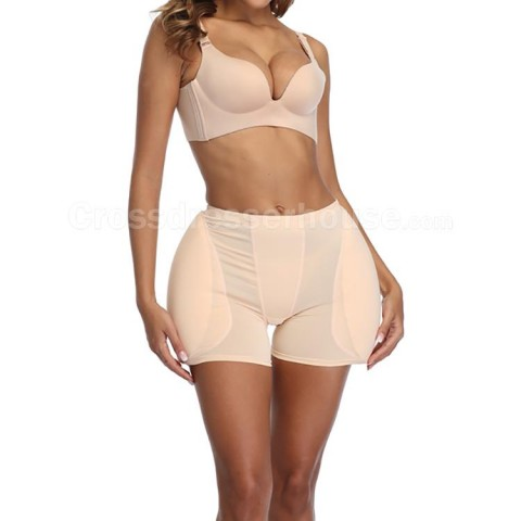 Fake hip panties with 2-piece hips padding for women or crossdressers High quality and comfortable push-up pads