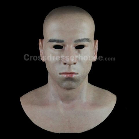 2019 Cosplay mask realistic in silicone Full head male face mask for photography