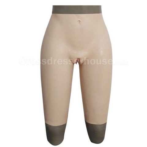 Transgender pant for Crossdresser Crossdressing Cosplay Silicone pants with urinary catheter Fake vagina available