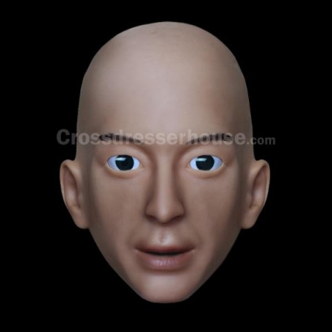 Realistic mask in silicone of man Mask comfortable to wear crossdressing cosplay