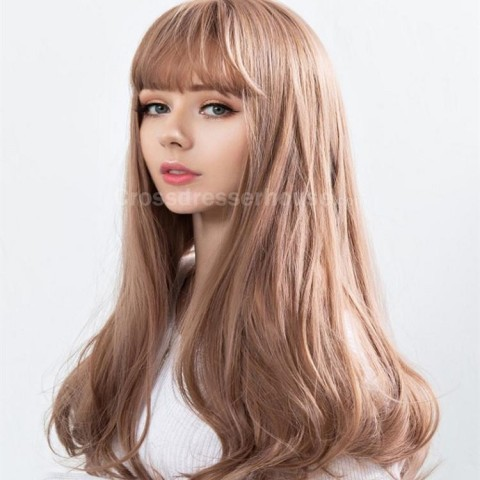 Recommended Goods Long wig with fringe Crossdresser wig Cosplay wig Emulational hair