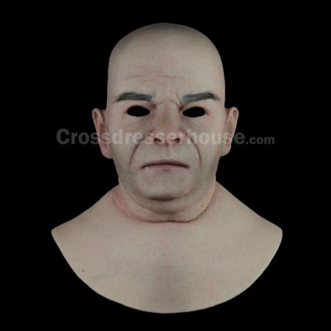 Silicone face mask male for cosplay of good quality Affordable full head mask