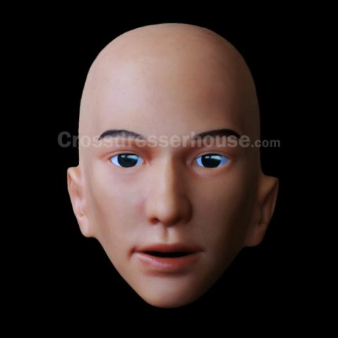 Silicone face mask of good quality Realistic male mask in silicone inexpensive