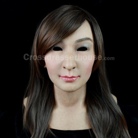 Female silicone mask realistic for cosplay Full head face mask of good quality