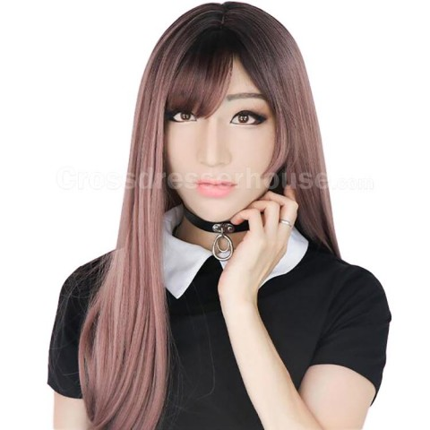 Silicone face mask for crossdressing High quality transgender mask female in silicone