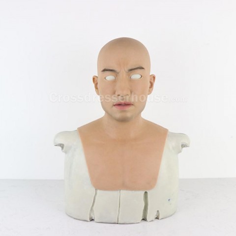Man mask comfortable to wear for film or cosplay Full silicone mask with realistic effect of good quality