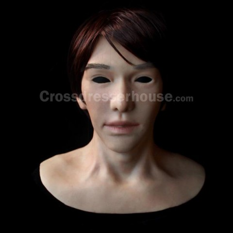 New arrival Realistic silicone mask inexpensive Male full head mask for cosplay