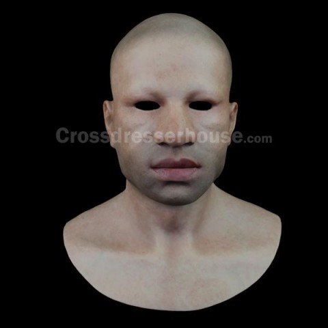 Silicone male full head mask Realistic man mask for cosplay and film on sale