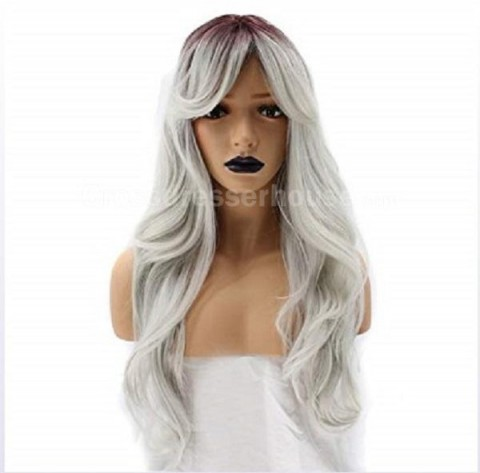 Sell well Long wig Curly periwig for transvestites or womens Cosplay wig Cheap hairpiece