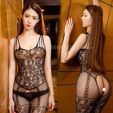Fishnet Crotchless Bodystocking Erotic Lingerie Revealing Open Crotch Bodystocking Cheap