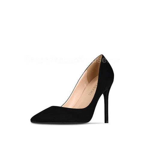 Classic high heel 6/8/10cm pointed toe slip on stilettos basic shoes
