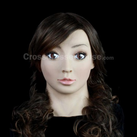 Female silicone mask for crossdressing transgender Crossdresser female mask full head 2019