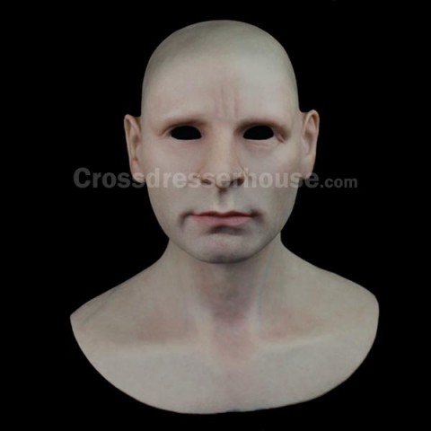 Afforadable mask in silicone cheap Male full head mask realistic for cosplay and film