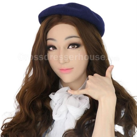 Realistic and comfortable transgender silicone mask Crossdresser mask female inexpensive